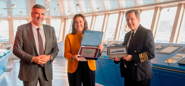 Baleària's first LNG ferry starts commercial operations