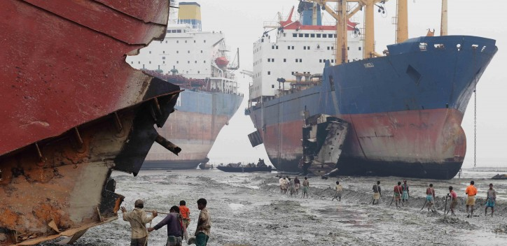 EU imposes stringent rules against ship dismantling in South Asia