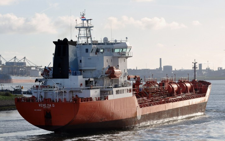 Chemical and product tanker Venezia D caught fire at Port of Kaliningrad
