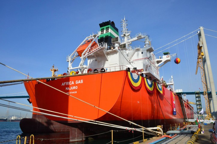 Nigerian National Petroleum Corporation JV Takes Delivery of Two LPG Carriers