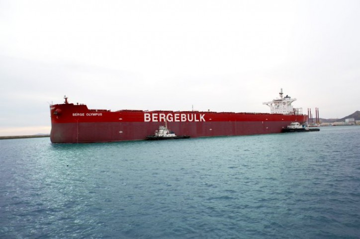 Bulk carrier Berge Olympus joins Berge Bulk fleet