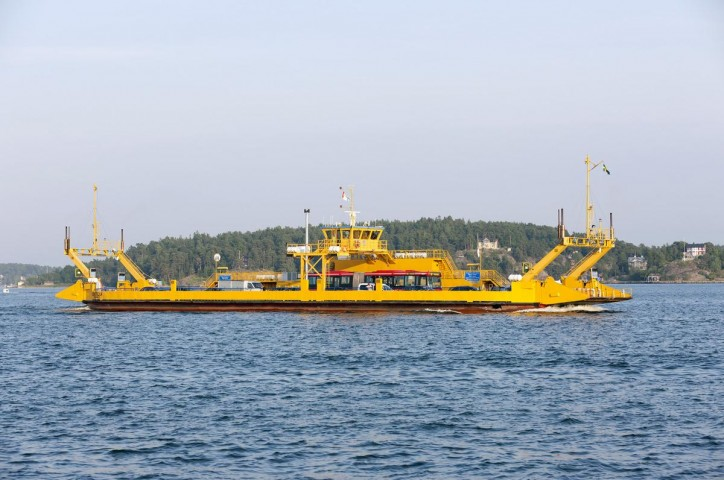 Ferry contract for Damen's Swedish repair yard