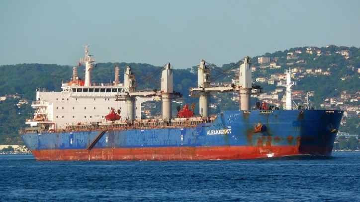 Bulk Carrier Arrested in Singapore