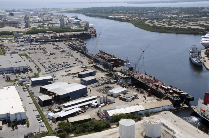 Ship repair companies at Tampa port merge operations