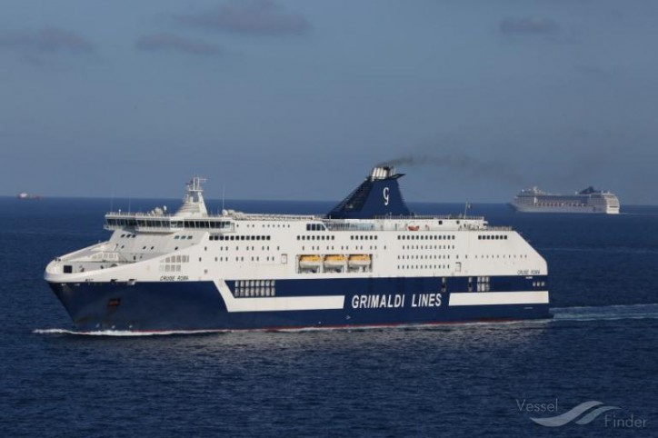 Fincantieri to renew two Grimaldi cruise ferries - Cruise Roma and Cruise Barcelona