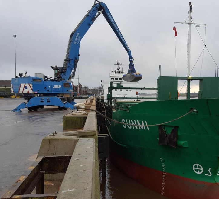 First Glencore Soya Shipment Arrives At The Port Of King's Lynn