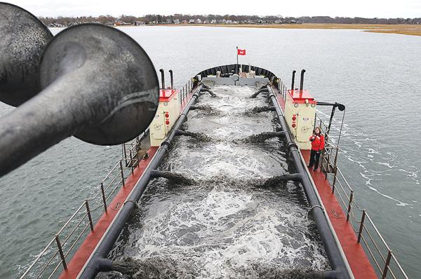 Dredge Currituck Continues Shark River Dredging Project