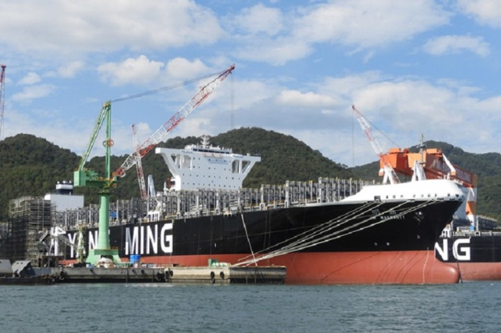 Yang Ming Launches Two More 14,000 TEU Ultra Large Container Vessels, YM Warranty and YM Wellspring