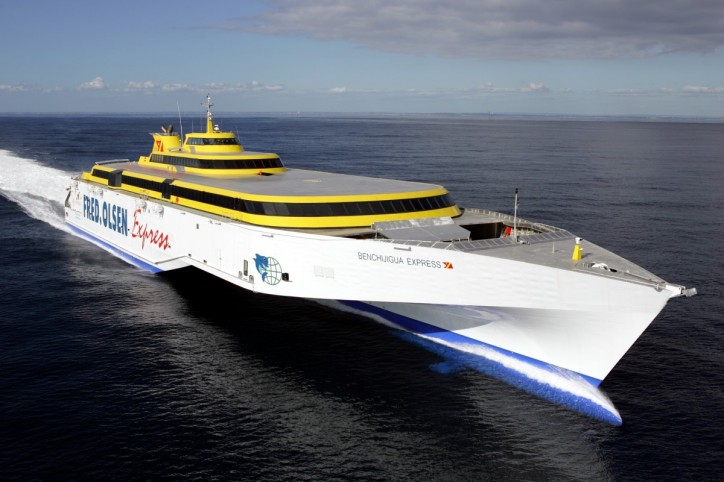 Austal secures new A$190Mln contract for two 117-metre trimaran ferries for Fred Olsen SA