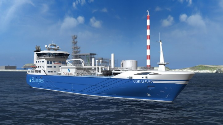 Wärtsilä propulsion solution chosen for new LNG bunkering vessel