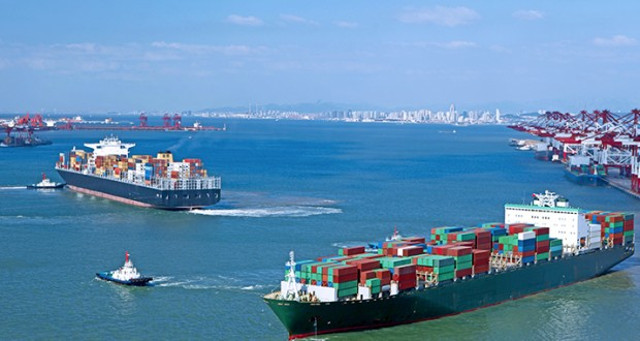 Asia-Europe Container Rates Rise Sharply
