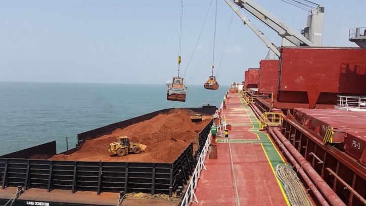 MOL signs bauxite transport deal with Alufer Mining Limited