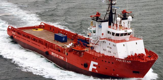 Solstad Offshore announces the sale of PSV Far Star