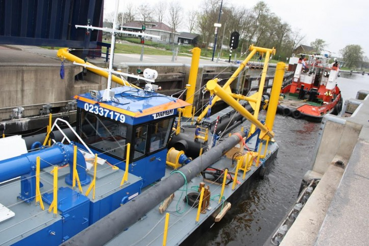 Damen's Cutter Suction Dredger 350