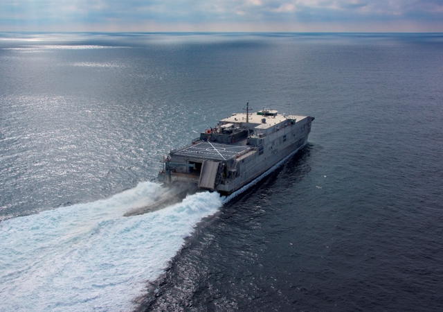 Austal celebrates keel-laying for Nation's eighth Expeditionary Fast Transport Vessel - EPF 8 YUMA (Video)