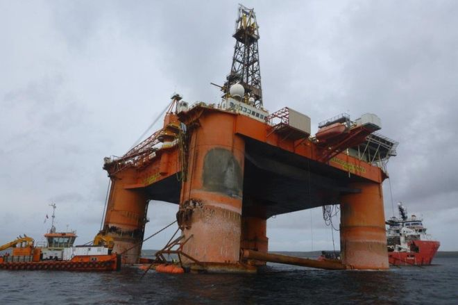 Update: Operation to float damaged drilling rig Transocean Winner to Hawk further postponed