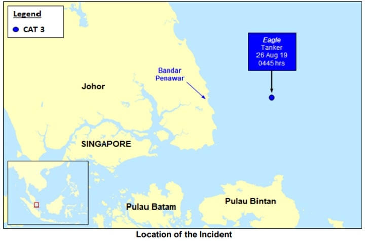 Robbers Board Tanker Anchored off Malaysia