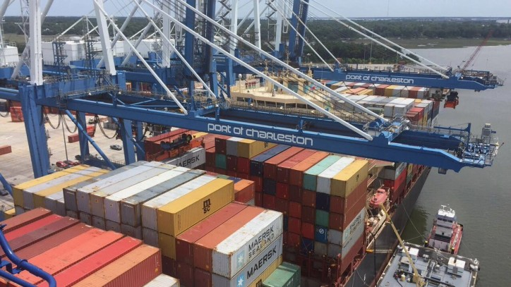 Six percent container growth, $262.3 million in capital expenditures projected for SC Ports Authority in Fiscal Year 2018