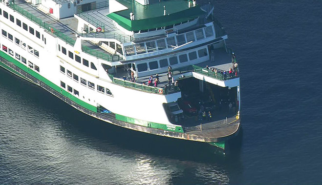 173 Passengers go through Brief Stranding on Ferry near Mukilteo due to Malfunction at sea