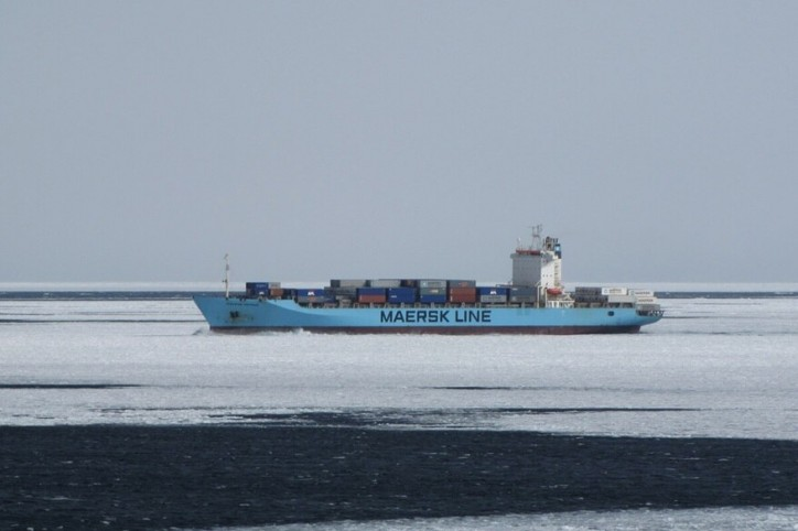Seafarer remains missing after falling overboard the Maersk Patras
