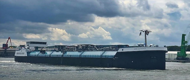 Bunker vessel LNG London begins operations in Europe