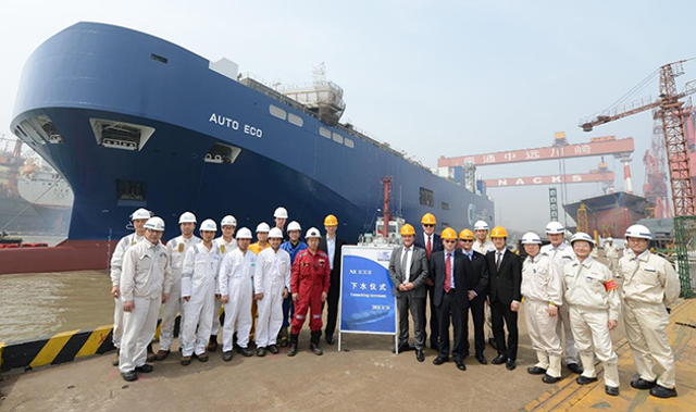 United Car Carriers European launches dual-fuel LNG pure car and truck carrier built to LR class