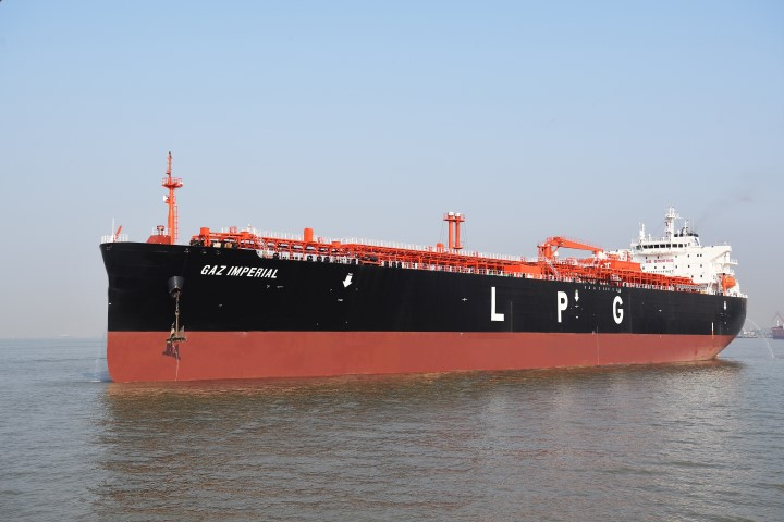 LPG-Fuelled ME-LGIP to Power Chinese VLGC