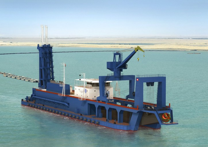Suez Canal Authority awards Royal IHC contract for two cutter suction dredgers