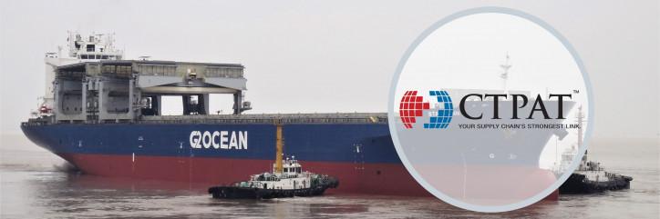 G2 Ocean upholds CTPAT membership