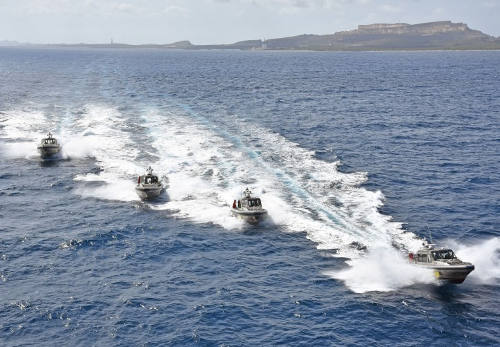 Metal Shark delivers new patrol boats to the Dutch Caribbean Coast Guard in Curacao