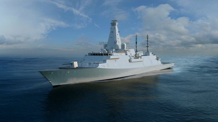 BAE Systems awarded $671 Mln Contract for UK Warship Project