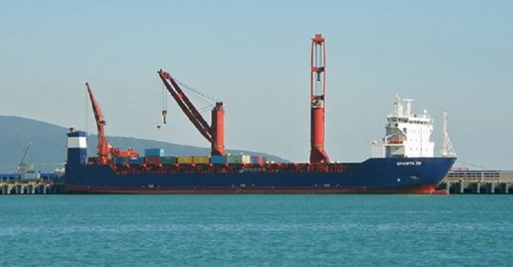 Oboronlogistics' largest containership Sparta III completed the delivery of cargo via the Northern sea route