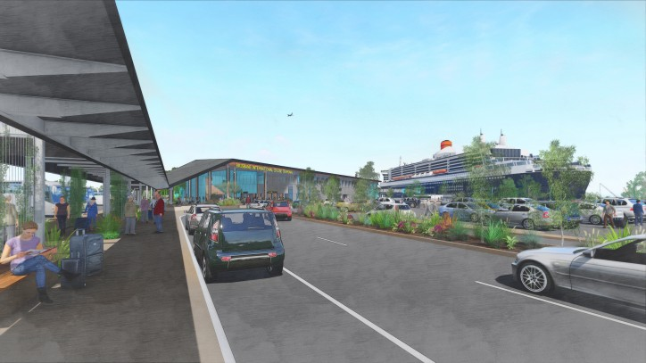 New Cruise Terminal for Brisbane is now full steam ahead (Video)