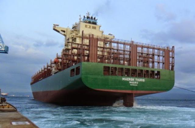 Maersk Tigris IMO  9694581