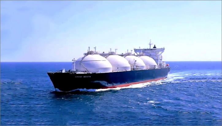 Japanese Mitsui contacts the eight LNG vessel