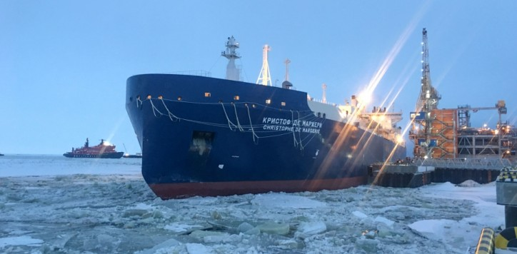 TOTAL inaugurates the Northern Sea Route with LNG carrier Christophe de Margerie