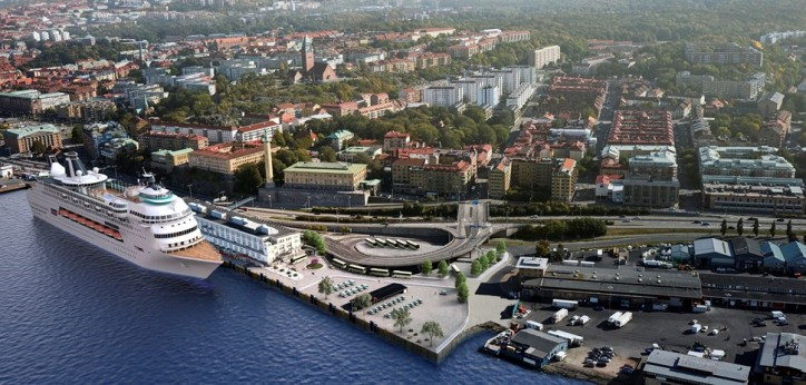 Gothenburg's America Cruise Terminal – New Location For Cruise Ships (Video)