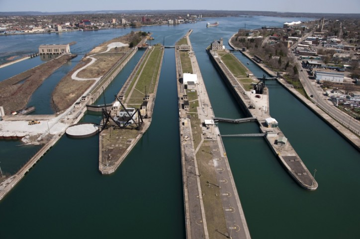 Soo Locks open for the 2016 season