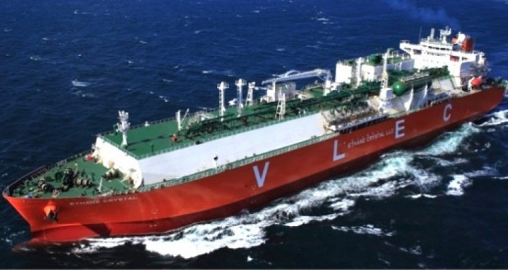 The World's First Very Large Ethane Carrier