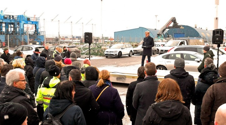 Official opening of new combi terminal at the Port of Gothenburg