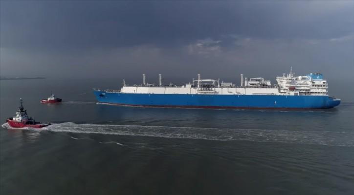 WATCH: Kotug Smit Towage assisted LNG vessel MV PSKOV in Zeebrugge