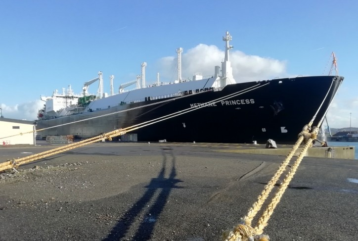 Damen Shiprepair Brest completes rapid repairs to LNG carrier Methane Princess
