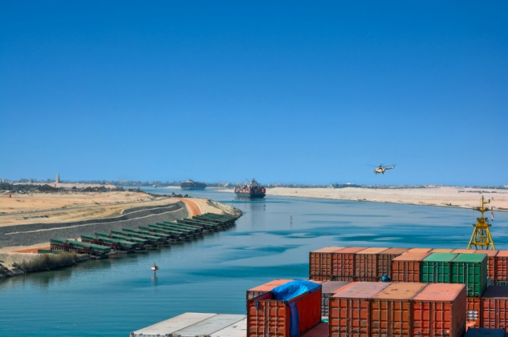 Egypt Inaugurates New Suez Shipping Lane