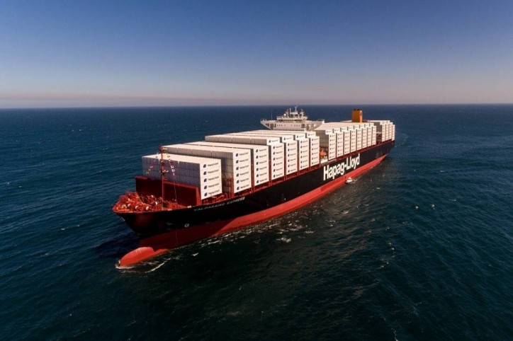 Hapag-Lloyd holds naming ceremony for first 10,500 TEU ship Valparaíso Express