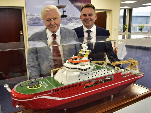 "Cammell Laird: Winning Sir David Attenborough Polar Ship Will ""Kick-Start 2017 Exports Drive"""