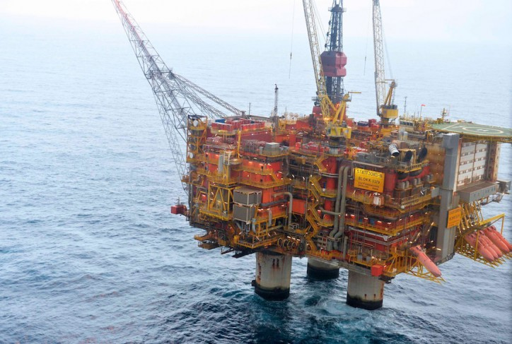 Fire hits Statoil's Statfjord A offshore platform; Fire extinguished