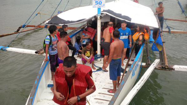 Passenger boat capsizes in Philippines, 7 dead, 2 missing