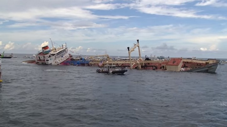 New Artificial Reef Is Sunk off Florida's Pompano Beach (Video)
