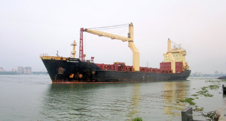 Cochin port receives its first coastal steel consignment
