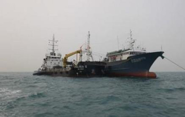 Two Vessels Arrested in Malaysian Waters for Illegal Oil Transfer